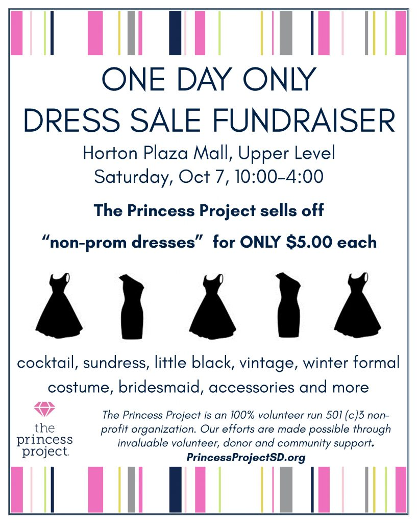 Dress Sale flier 2017 oct 7