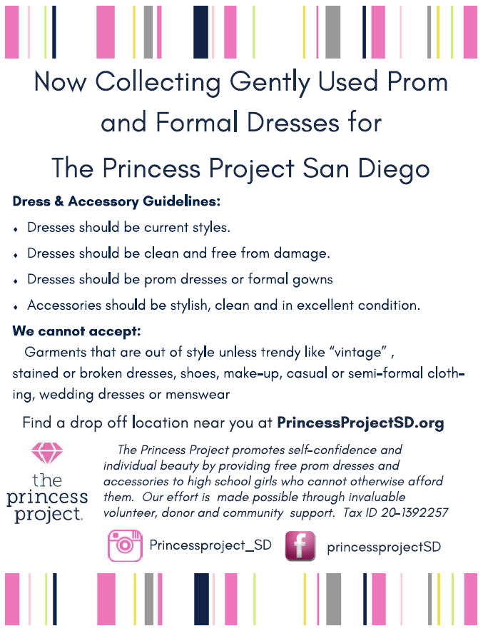 Donate Princess Project San Diego